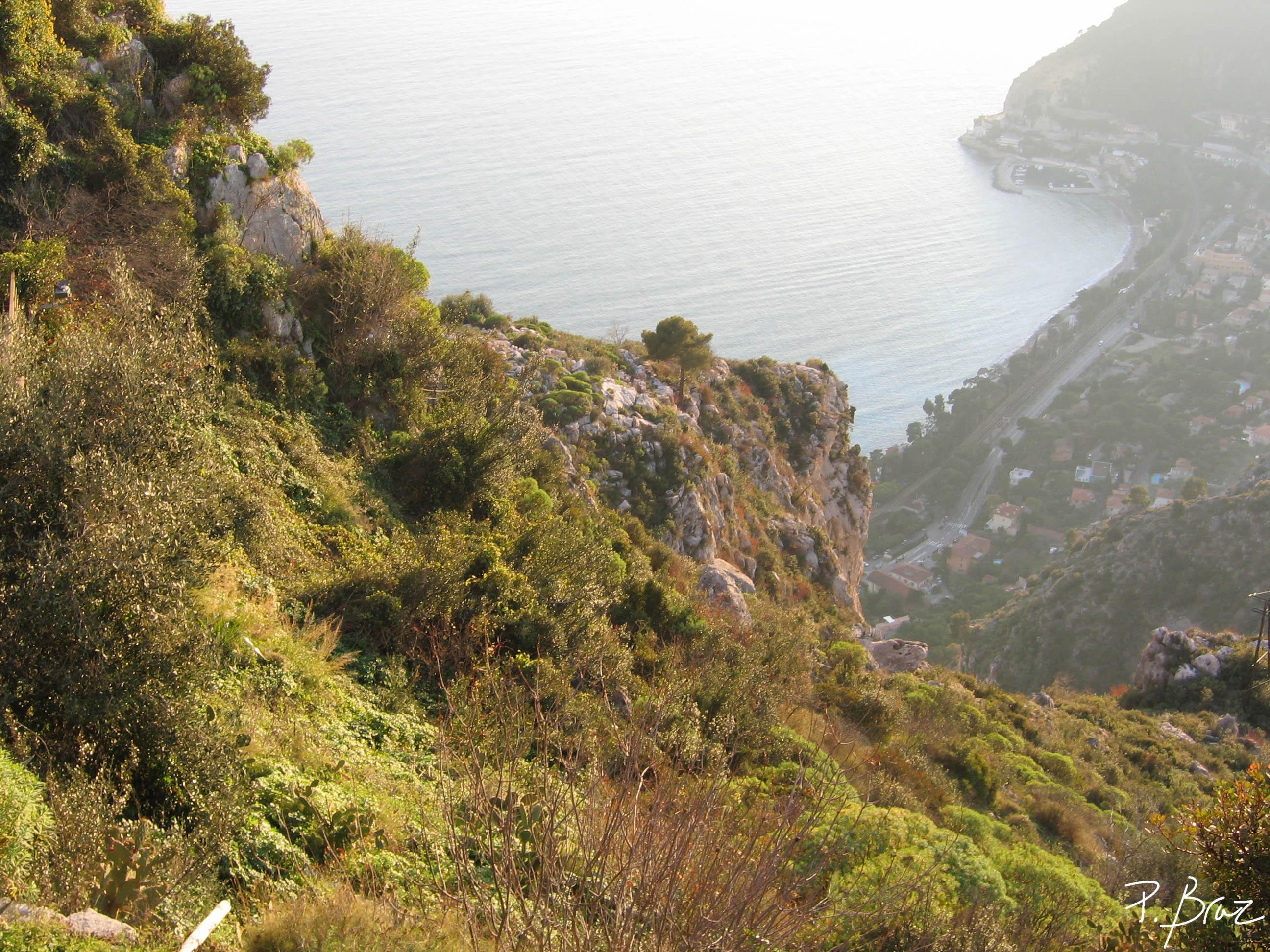 Eze - Mediterranean view