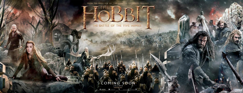 20141230 – Humeurs / Cinéma  : Dimanche 28 Décembre 2014 – rattrapage cinéma : Les Pingouins de Madagascar  / The Hobbit  : La bataille des cinq armées